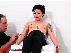 Asian, Fetish, Slave, Asian fishnet fetish, Sunporno.com
